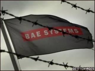 Bandera de BAE