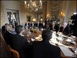 Delegados en reunión el jueves en Ginebra