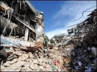Terremoto em Sumatra em outubro