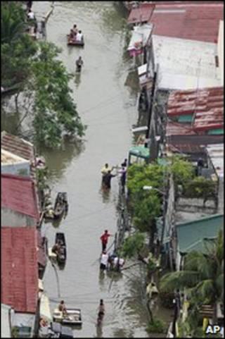 بلدة أنجونو شرقي الفلبين