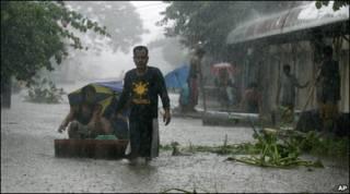 Enchente nas Filipinas