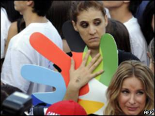 Espanhóis lamentam derrota da candidatura de Madri na última secta-feira  (AFP)