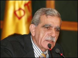 DTP Eş Başkanı Ahmet Türk