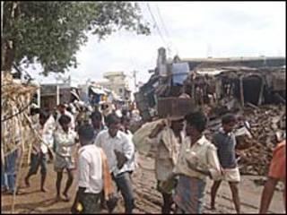 आंध्र प्रदेश में बाढ़