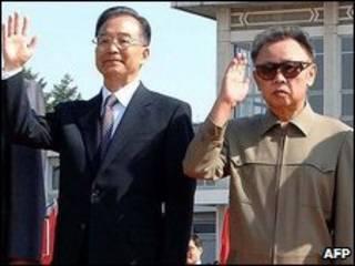 كوريا الشمالية والصين
