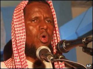 وزير دولة لشؤون الدفاع في الحكومة الانتقالية الصومالية، الشيخ يوسف محمد سياد