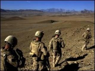 अफ़ग़ानिस्तान में विदेशी सैनिक