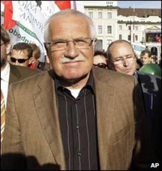 واسلاو کلاس رئیس جمهوری چک