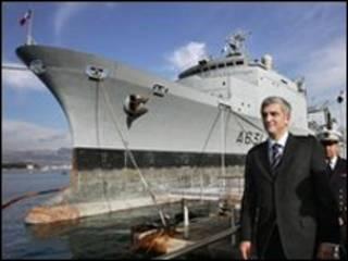 وزير الدفاع الفرنسي ايرفيه موران