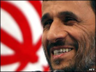 El presidente de Irán, Mahmud Ahmadinejad
