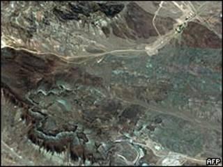 ईरान का परमाणु स्थल