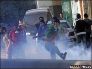 مواجهات بين محتجين فلسطينيين وقوات أمن إسرائيلية