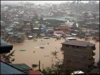 الفيضانات في الفلبين