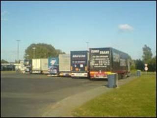 Xe tải ở châu Âu