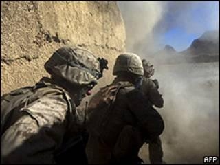 Tropas extranjeras en Afganistán