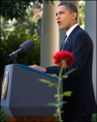 الرئيس الأمريكي، باراك أوباما
