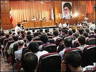 دادگاه متهمان حوادث پس از انتخابات در ایران
