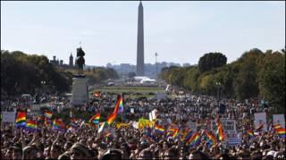 Marcha gay em Washington