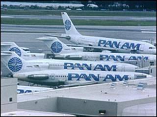 Flota de aviones de Pan Am. Archivo