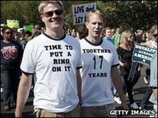 مسيرة المثليين في واشنطن