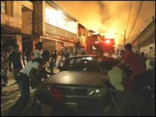 حريق في ساو باولو