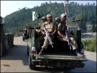 نیروهای پاکستانی