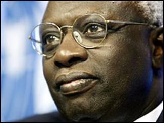 Babban Direktan Hukumar FAO, Jacques Diouf