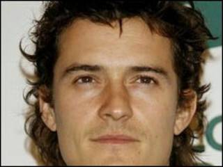 O ator Orlando Bloom