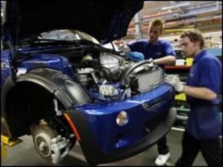 Sản xuất xe hơi tại Anh