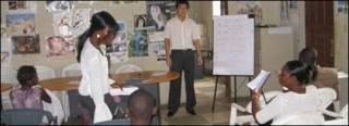 Người Liberia học tiếng Trung Quốc