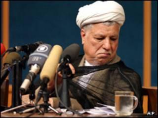 اکبر هاشمی رفسنجانی، رئیس مجلس خبرگان رهبری ایران