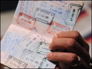 Паспорт із візами