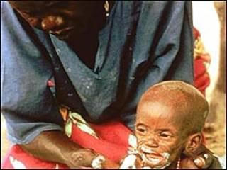 Mujer con su hijo