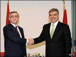 رهبران ترکیه و ارمنستان