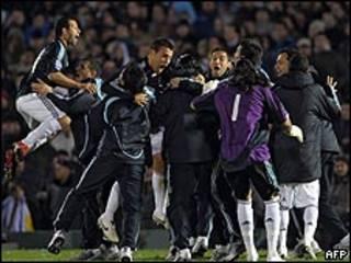 احتفالات الأرجنتين بالتأهل