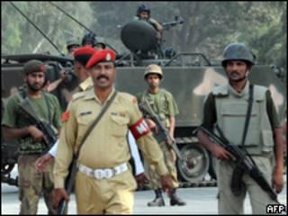 قوات الجيش الباكستاني