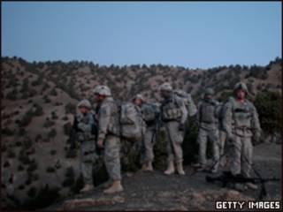 عناصر الجيش الأمريكي في أفغانستان