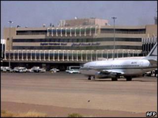 Aeropuerto de Bagdad (foto de archivo)