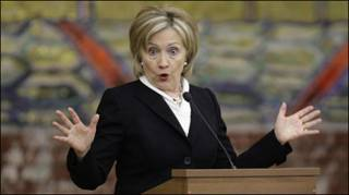 Ngoại trưởng Hillary Clinton