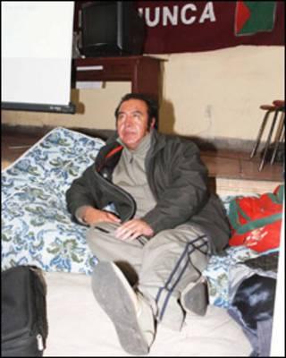 Fanor Nava, alcalde de El Alto (foto cortesía periódico El Alteño)