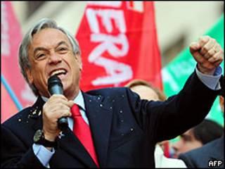 Sebastian Piñera. Foto AFP