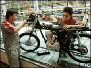 Nhà máy ở Trung Quốc