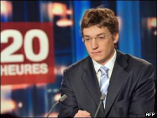 Jean Sarkozy, hijo del presidente francés