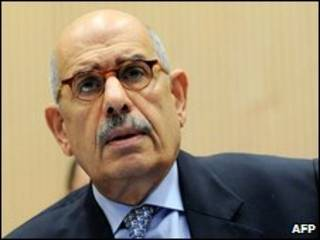 محمد البرادعی دبیر کل آژانس اتمی سازمان ملل