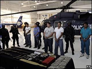 Los detenidos
