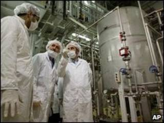 Instalação de conversão de urânio em Isfahan, Irã (arquivo)