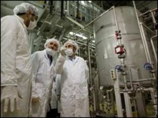 تاسیسات اتمی ایران