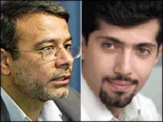 هادی حیدری و محمد کیانوش راد