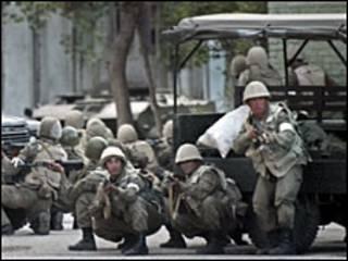 Ўзбек аскарлари, 2005 йил, Андижон