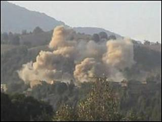 Ofensiva paquistaní contra los talibanes.